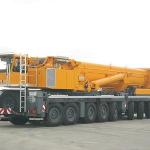lắp dựng cẩu tháp có độ cao 90m bằng cẩu 500 tấn